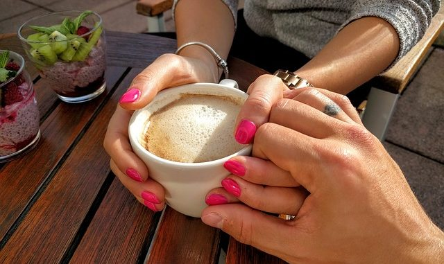 Tomando café juntos